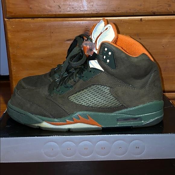 Jordan Shoes   Jordan 5 Olive   Poshmark